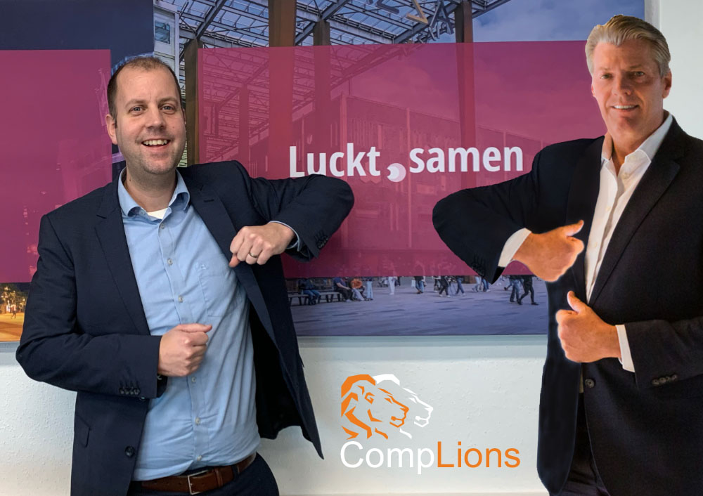 Luckt gaat samenwerking aan met CompLions!